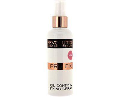 Makeup Revolution Matující Fixační sprej na make-up (Pro Fix Makeup Oil Control Fixing Spray) 100 ml