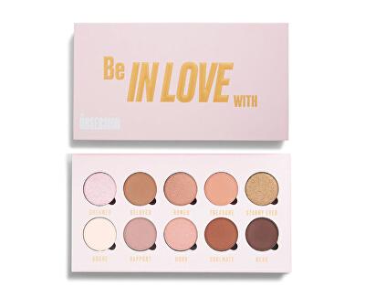 Paletka očných tieňov Be In Love With 10 x 1,3 g