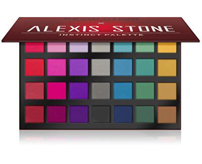 Paletka očních stínů X Alexis Stone (Eye Shadow Palette) 28 x 1,2 g