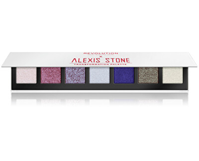 Paletka očních stínů X Alexis Stone The Transformation (Eye Shadow Palette) 8,4 g