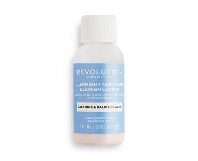 Péče o pleť Overnight Targeted Blemish Scincare (Blemish Lotion) 30 ml