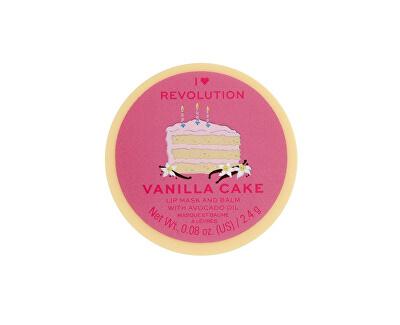 Balsam de buze cu ulei de avocado Vanilla Cake (Lip Mask and Balm) 2,4 g