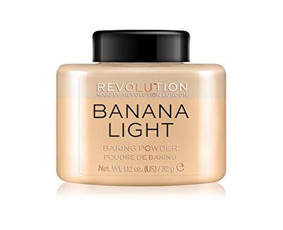 Transparentní pudr (Loose Baking Powder Banana Light) 32 g