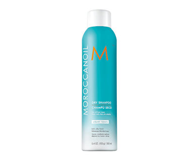 Suchý šampon pro světlé odstíny vlasů (Dry Shampoo for Light Tones) 205 ml
