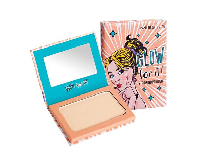 Misslyn Rozjasňující pudr Glow For It! (Strobing Powder) 6 g