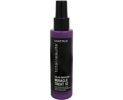 Matrix Obnovující sprej pro barvené vlasy Total Results Color Obsessed Miracle Treat 12 125 ml