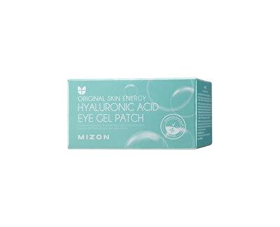 Očná hydrogélová maska s kyselinou hyalurónovou a kolagénom Original Skin Energy (Hyaluronic Acid Eye Gel Patch) 60 x 1,5 g