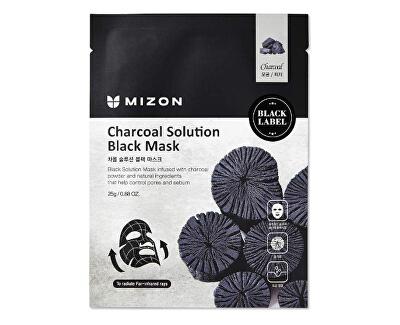 Mască de curățare cu cărbune (Charcoal Solution Black Mask) 25 g