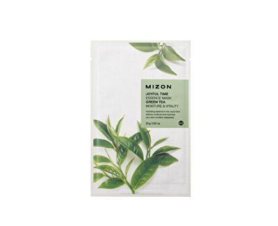 Plátýnková 3D maska se zeleným čajem pro hydrataci a vitalitu pleti Joyful Time (Essence Mask Green Tea) 23 g