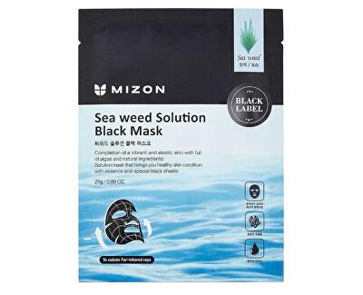 Tápláló moszatmaszk (Sea Weed Solution Black Mask) 25 g