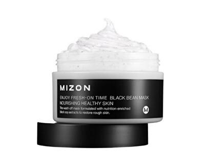 Mizon Regenerační a ozdravující výživná maska na zhrublou šupinatou pleť (Enjoy Fresh-On Time Black Bean Mask Nourishing Healthy Skin) 100 ml