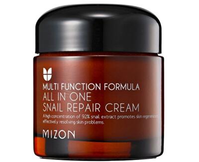 Mizon Regenerační pleťový krém s filtrátem hlemýždího sekretu 92% (All In One Snail Repair Cream)