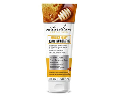 Tělový peeling Manukový med (Manuka Honey Scrub Invigorating) 175 ml