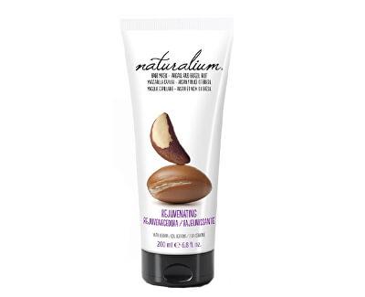 Naturalium Vlasová maska výtažkem z arganu a para ořechu (Rejuvetaning Hair Mask Argan & Brazil Nut) 200 ml