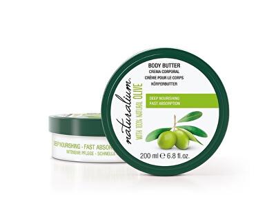 Naturalium Vyživující tělové máslo s olivovým olejem (Deep Nourishing Body Butter) 200 ml
