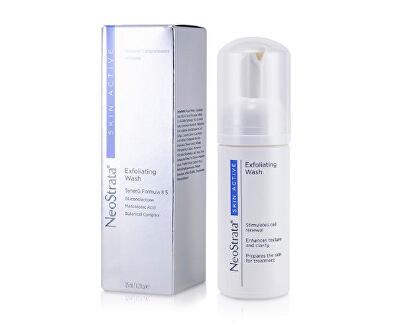 Exfoliační čisticí pěna Skin Active (Exfoliating Wash) 125 ml