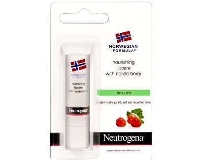 Výživný balzám na rty Nordic Berry (Nourishing Lipcare) 4,8 g