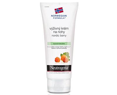 Výživný krém na nohy Nordic Berry (Nourishing Foot Cream) 100 ml
