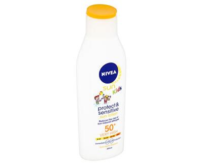 Dětské mléko na opalování SPF 50+ Sun Kids (Pure & Sensitive Sun Lotion) 200 ml