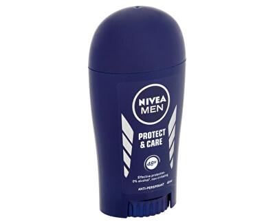 Tuhý antiperspirant pro muže Protect & Care 40 ml