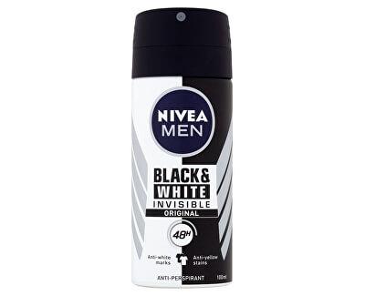 Antiperspirant ve spreji pro muže Invisible For Black & White (Antiperspirant) 100 ml