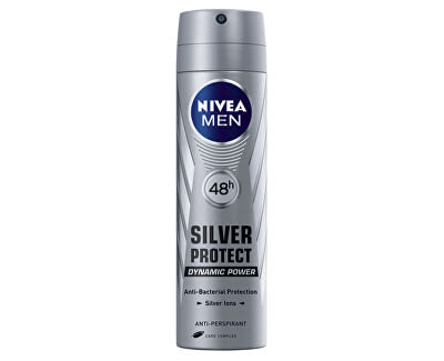 Antiperspirant ve spreji pro muže Silver Protect Dynamic Power 150 ml