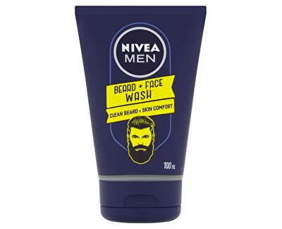 Čisticí gel na vousy Men (Beard + Face Wash) 100 ml