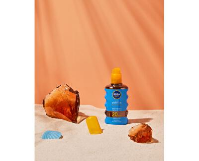 Olej na opalování ve spreji podporující zhnědnutí SPF 20 Sun (Protect & Bronze Oil) 200 ml