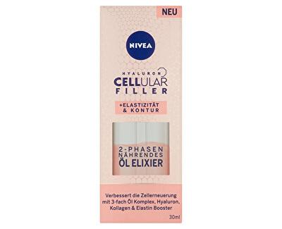 Remodelační dvoufázový olejový elixír Hyaluron Cellular Filler (Elasticity Oil Elixir) 30 ml - SLEVA - poškozená krabička