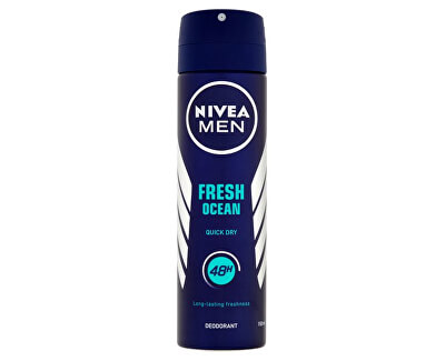Deodorant ve spreji pro muže 48h Fresh Ocean 150 ml