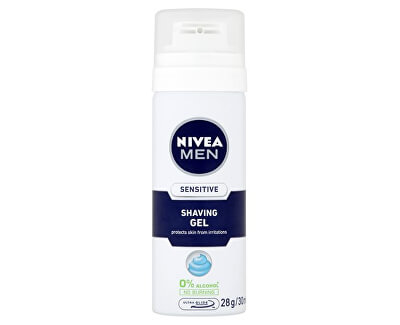 Nivea Gel na holení Sensitive Men (Shaving Gel) 30 ml