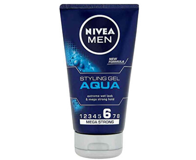 Gel na vlasy s mokrým efektem Aqua (Styling Gel) 150 ml
