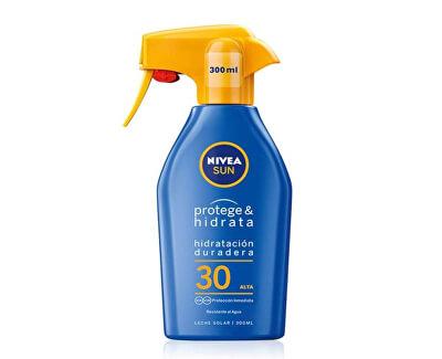 Nivea Sun Hydratační sprej na opalování pump OF30 300 ml