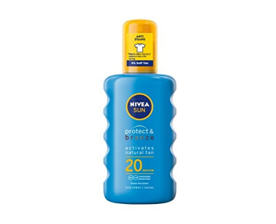 Intenzivní sprej na opalování SPF 20 Sun (Protect & Bronze Sun Spray) 200 ml