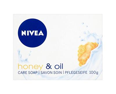 Krémové tuhé mýdlo Honey Oil (Creme Soap) 100 ml