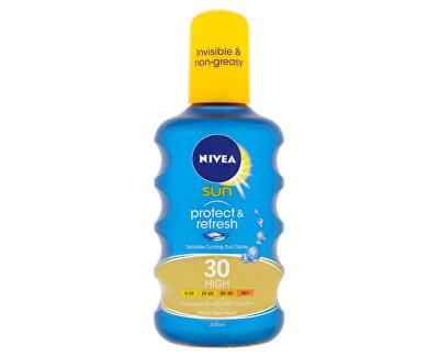 Nivea Neviditelný sprej na opalování Protect & Refresh SPF 30 200 ml