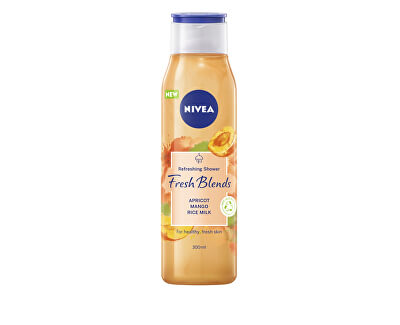 Osvěžující sprchový gel Fresh Blends Apricot, Mango, Rice Milk (Refreshing Shower) 300 ml