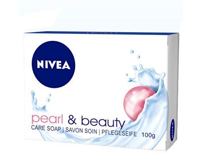 Pečující tuhé mýdlo Pearl & Beauty (Care Soap) 100 ml