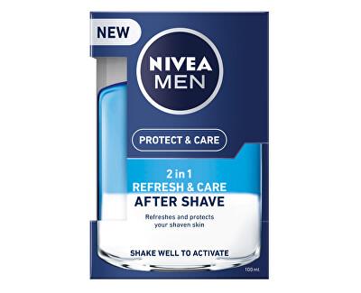 Nivea Pečující voda po holení 2v1 Men Refresh&Care 100 ml