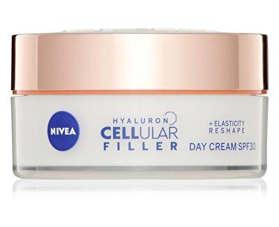 Remodelační denní krém Hyaluron Cellular Filler SPF 30 (Elasticity Day Cream) 50 ml - SLEVA - bez celofánu