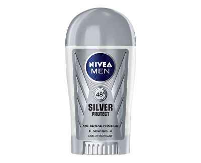 Tuhý antiperspirant pro muže Silver Protect Dynamic Power 40 ml