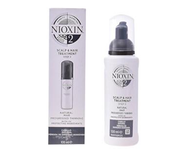 Vlasová kúra pro jemné výrazně řídnoucí přírodní vlasy System 2 (Scalp & Hair Treatment) 100 ml