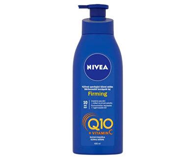 Výživné zpevňující tělové mléko pro suchou pokožku Q10 Plus (Firming) 400 ml - SLEVA - prasklé víčko