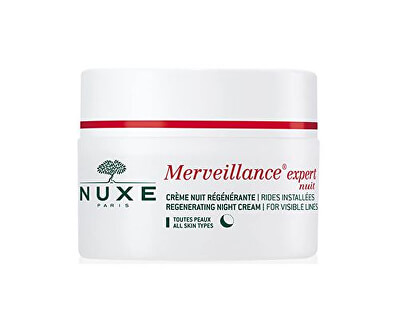 Noční pleťový krém Merveillance Expert Nuit (Regenerating Night Cream Visible Lines) 50 ml