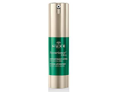 Nuxe Omlazující krém pro jemné kontury rtů a očí Nuxuriance Ultra (Eye And Lip Contour) 15 ml