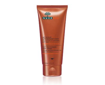 Nuxe Samoopalovací tělové mléko Sun (Silky Self-tanning Body Lotion) 100 ml