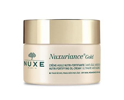 Zpevňující olejový krém Nuxuriance Gold (Nutri-Fortifying Oil Cream) 50 ml - SLEVA - poškozená krabička
