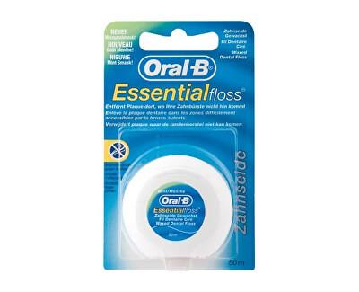 Oral B Dentální nit s mentolovou příchutí (Essential Floss Mint) 50 m