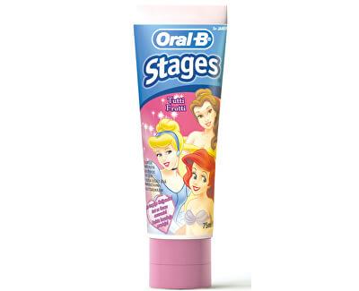 Oral B Dětská zubní pasta Princess 75 ml