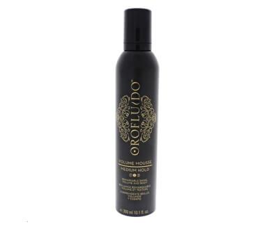 Objemová pěna na vlasy pro ochranou barvy (Volume Mousse) 300 ml